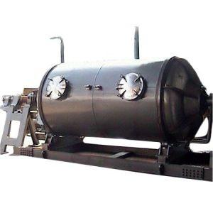 horizontal rotary extractors